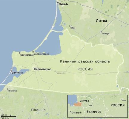 Карта Светлогорска — подробная карта отелей, пляжей